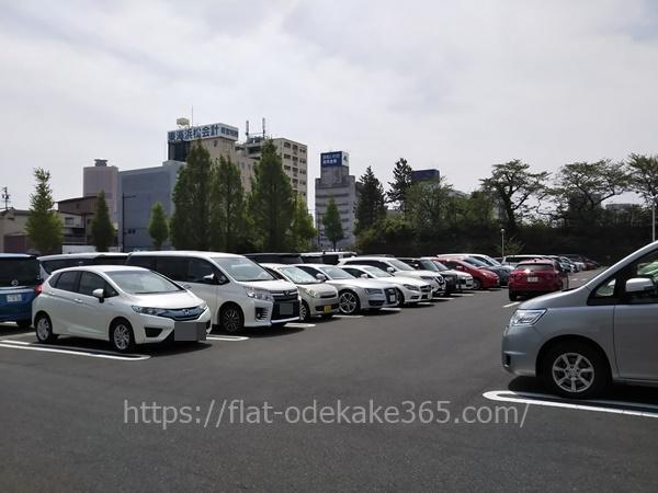 浜松城の駐車場は無料?時間は?混雑してる?周辺パーキングは安い?