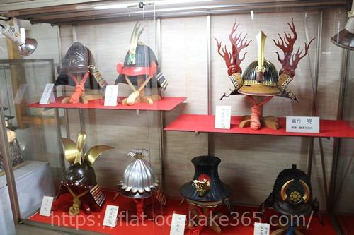 伊賀上野城の甲冑展示の写真