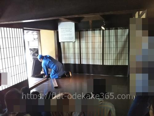 伊賀流忍者博物館のからくり屋敷の写真