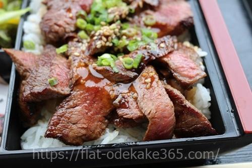 飛騨牛弁当の写真アップです