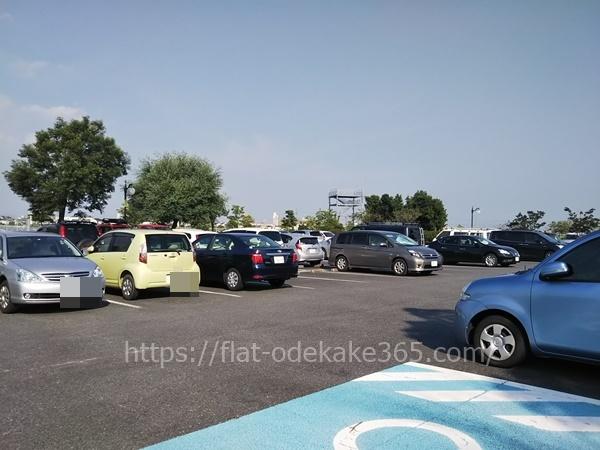 フローラルガーデンよさみの駐車場の写真