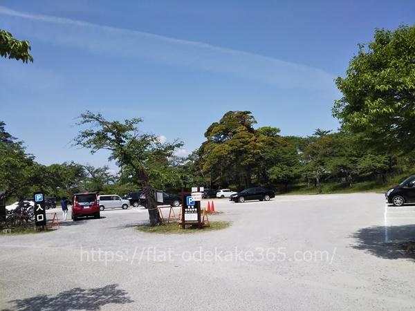 桜町駐車場の様子