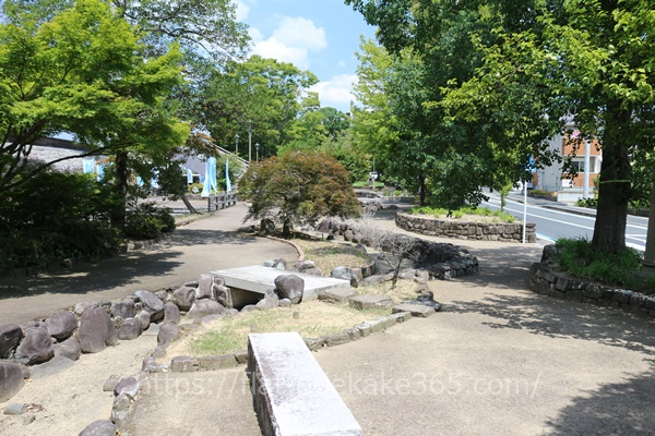 福知山公園の様子
