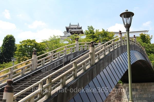 福知山公園の太鼓橋