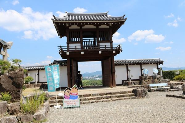 福知山城の門