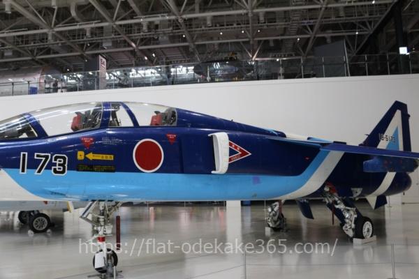 岐阜かかみがはら航空宇宙博物館の博物館内部 戦闘機