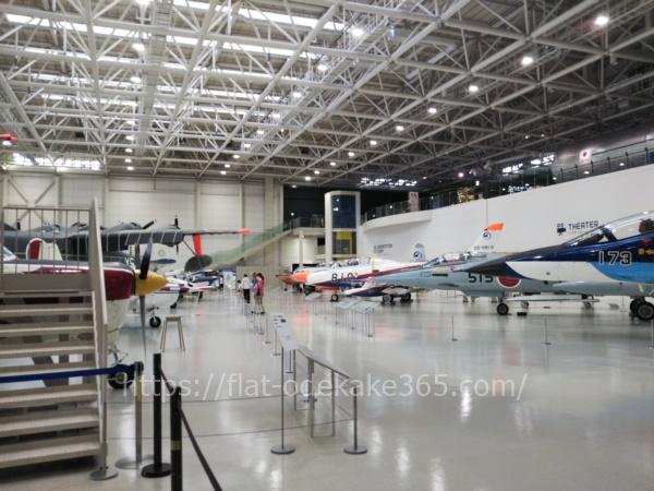 岐阜かかみがはら航空宇宙博物館の博物館内部 全体
