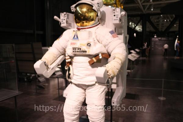 岐阜かかみがはら航空宇宙博物館の博物館 宇宙服