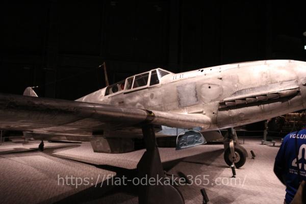 岐阜かかみがはら航空宇宙博物館の博物館内部 飛燕の写真