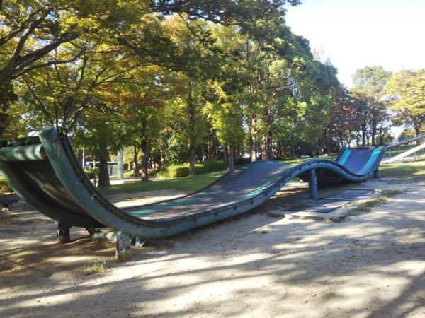 中部公園の大型遊具